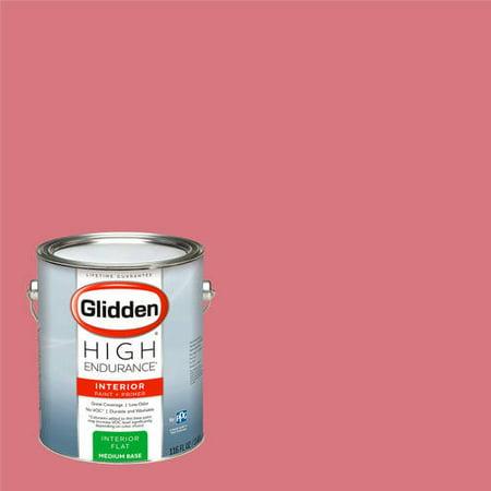 Glidden High Endurance, Interior Paint and Primer, Lipstick, #90RR 28/359