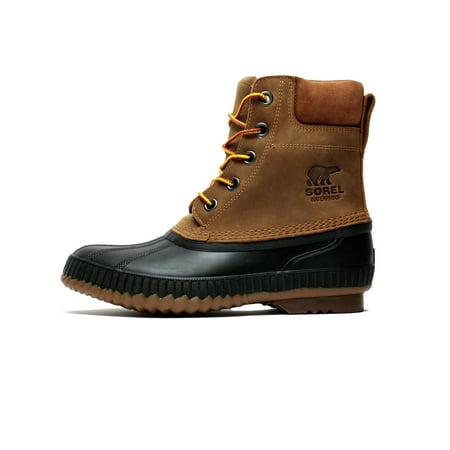 Men s Sorel Cheyanne II Boot Chipmunk Black NM 2575-224 - Walmart.com 2f09c169e0cf2