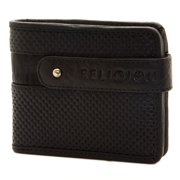 Religion Men's Textured Leather Wallet One Size Black