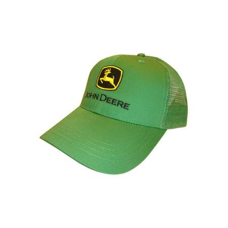 john deere trucker hat green