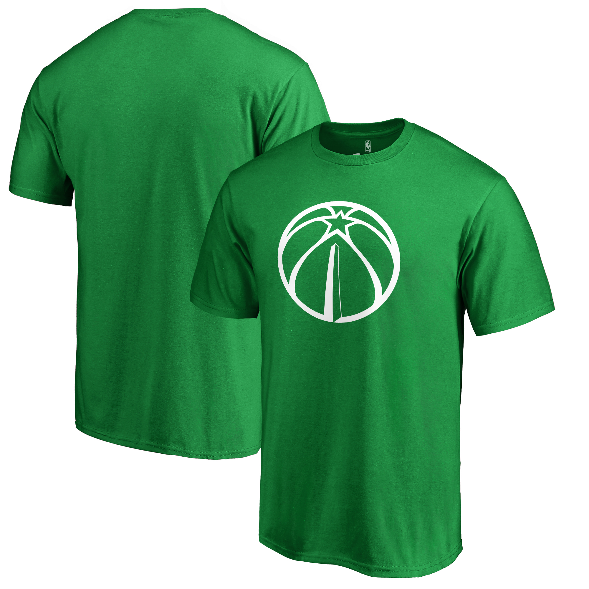 Washington Wizards Fanatics Branded Big & Tall St. Patrick's Day White Logo T-Shirt - Green