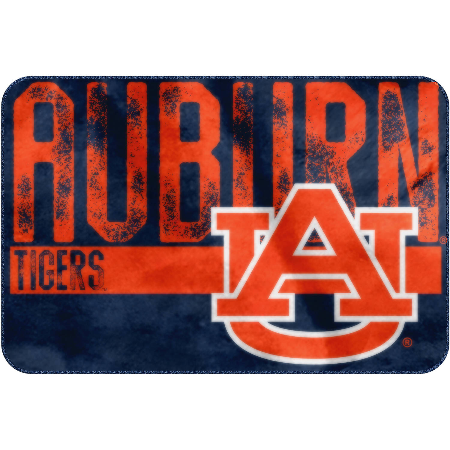 "NCAA Auburn Tigers ""Worn Out"" Mat, 20"" x 30"""