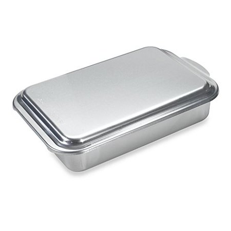 Nordic Ware 174 Aluminum 9 Inch X 13 Inch Cake Pan With Metal