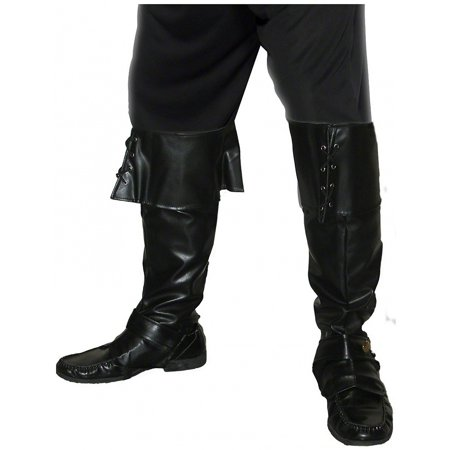 Deluxe Pirate Boot Covers Adult Costume Accessory](Pirate Boot Covers)