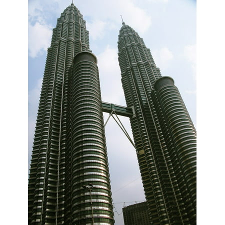 Framed Art for Your Wall Building Twin Towers Malaysia 10x13 Frame ()
