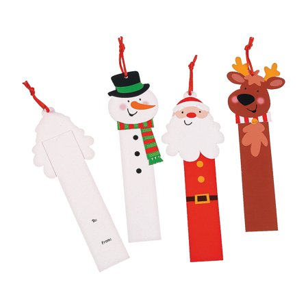 IN-13749778 Christmas Gift Tags Assortment By Fun Express