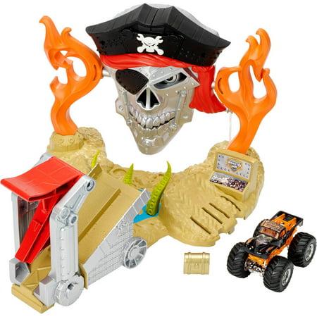 Hot Wheels Monster Jam Pirate Takedown Play Set - Walmart.com