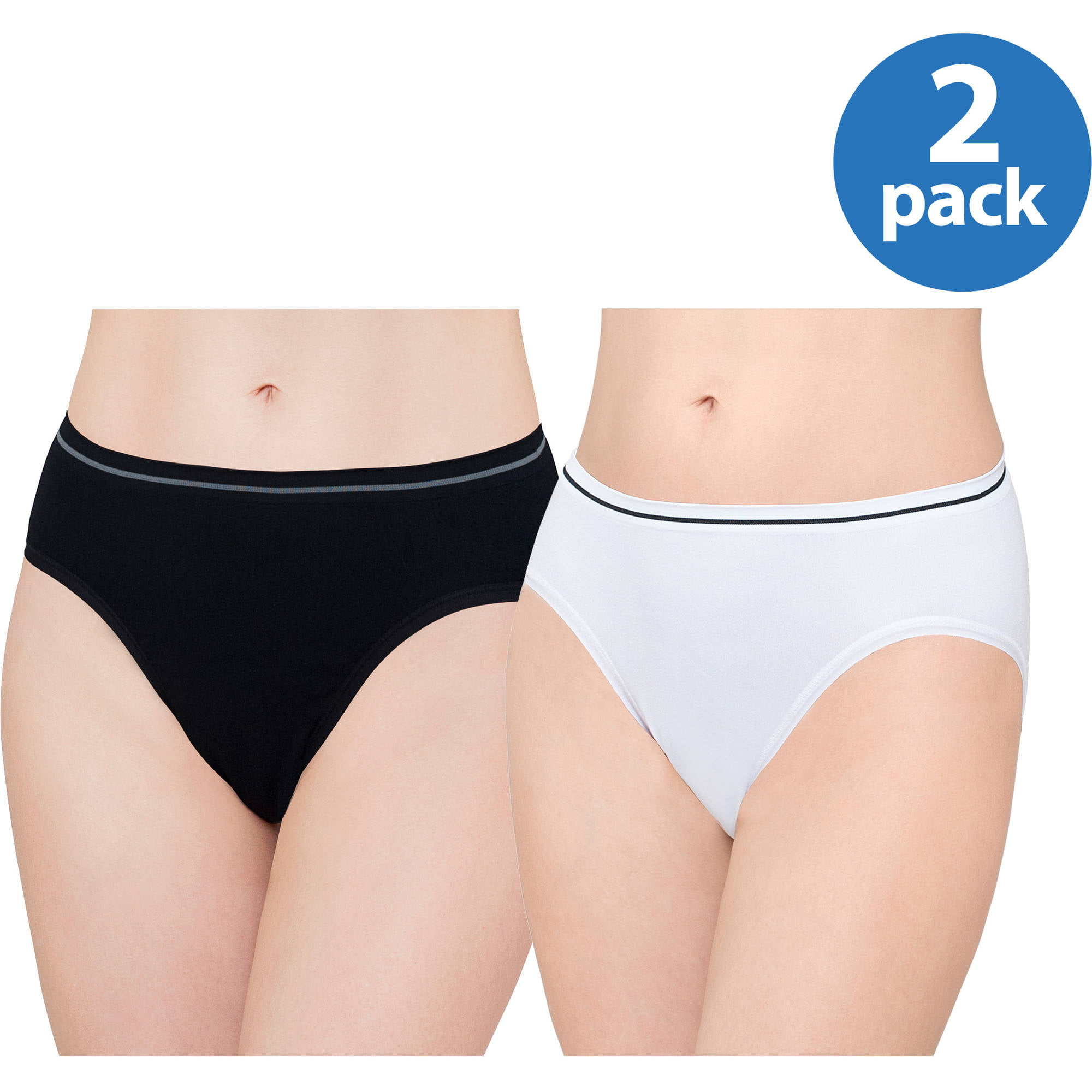 2ae568528083 Best Fitting - Panty Seamless Hicut, 2pk - Walmart.com