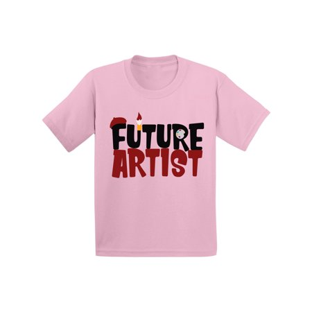 Awkward Styles Future Artist Toddler Shirt Kids Themed Party Cute Artist Shirts for Boys Cute Artist Shirts for Girls Funny Gifts for Art Lover Art Tshirts for Kids Future Painter T shirts Art Gifts