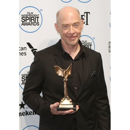 JK Simmons Winner Of The Best Supporting Male Award For Whiplash In The Press Room For 30Th Film Independent Spirit Awards 2015 - Press Room Santa Monica Beach Santa Monica Ca February 21 2015 Photo