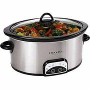 Crock-Pot Stainless Steel 7 Quart Smart Pot Programmable Slow Cooker