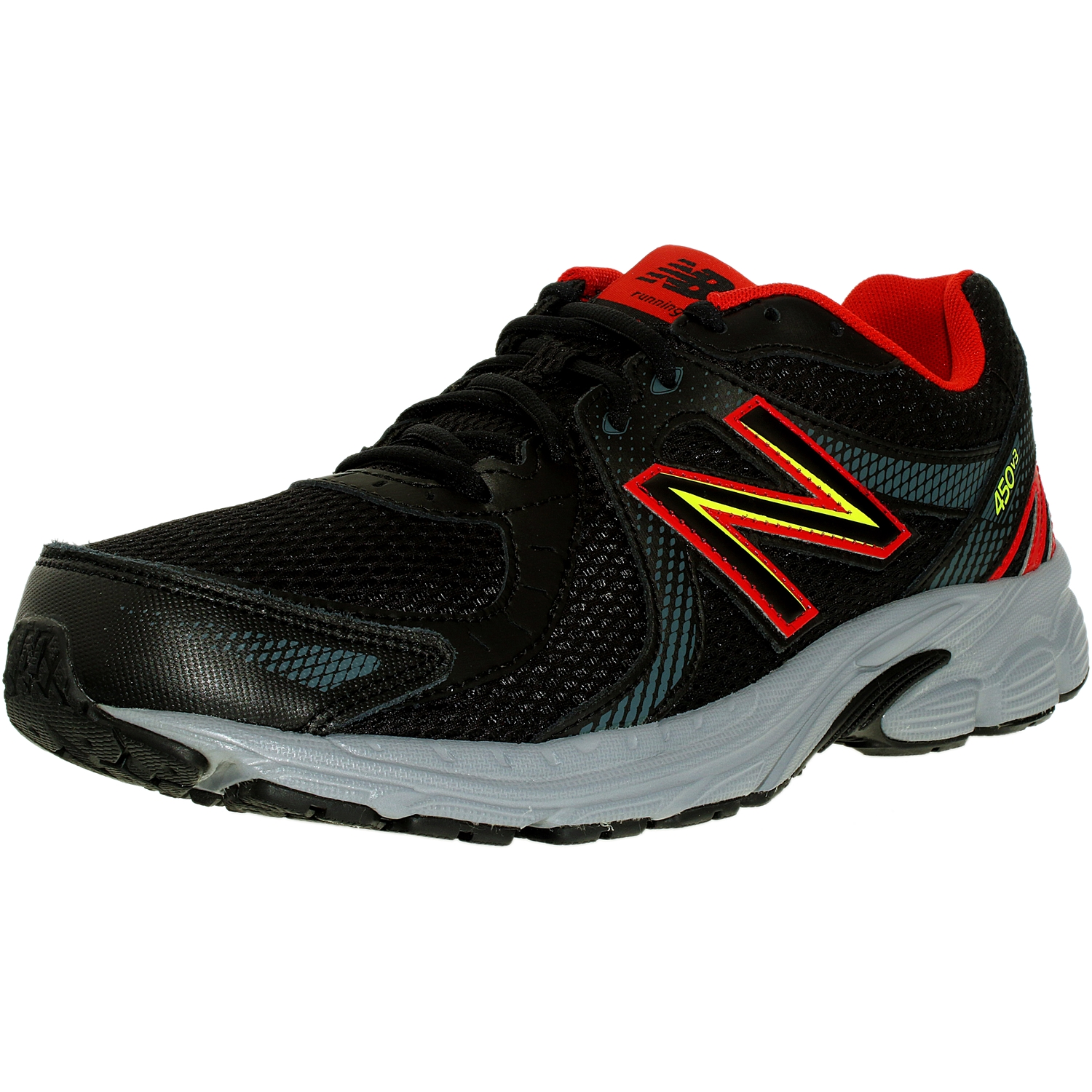 New Balance M450 Men 4E Round Toe Synthetic Black Running Shoe by New Balance