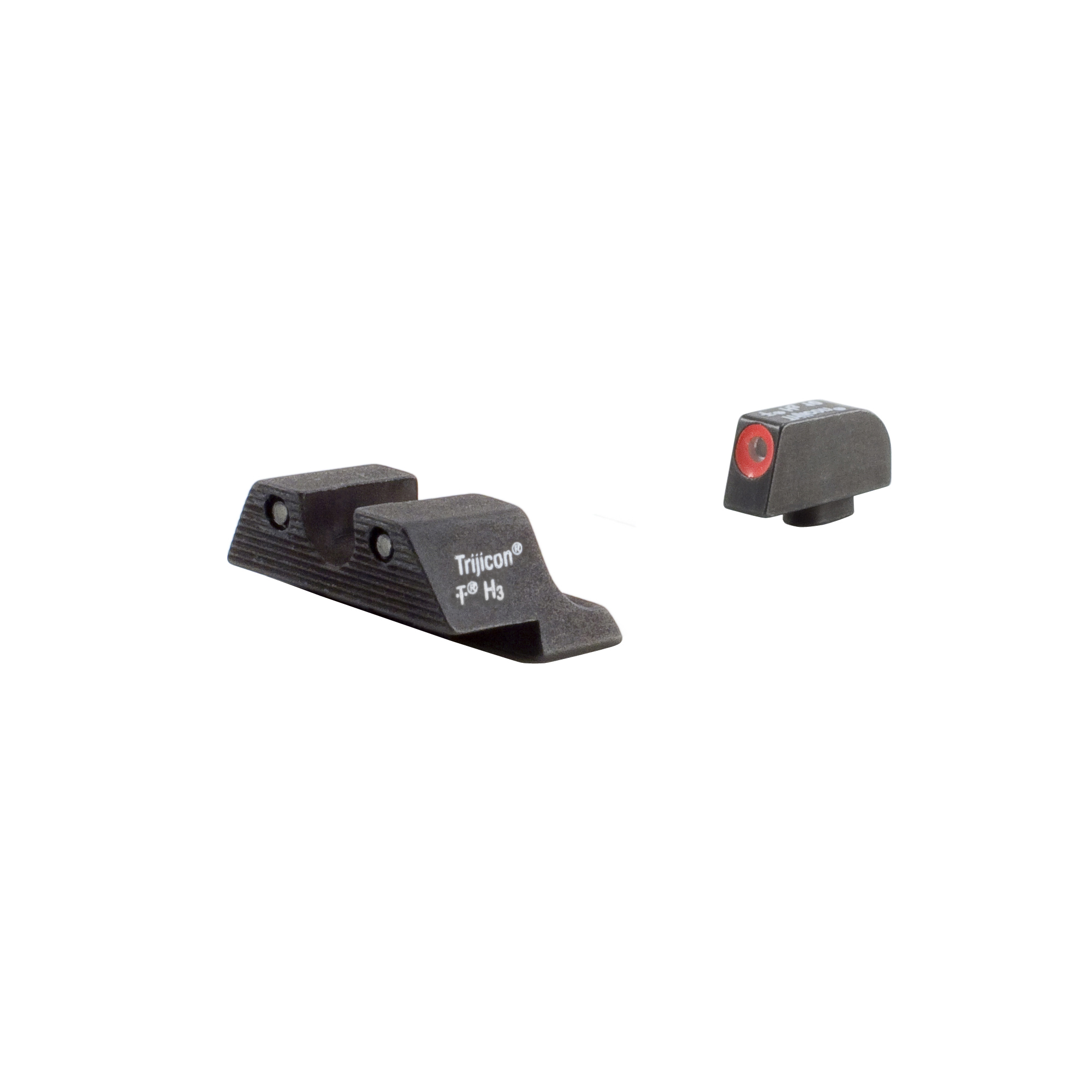 Trijicon Glock HD Night Sight Set 20 21 29 30 36 40 41, S and SF Variants, Orange Front Outline Lamp by Trijicon