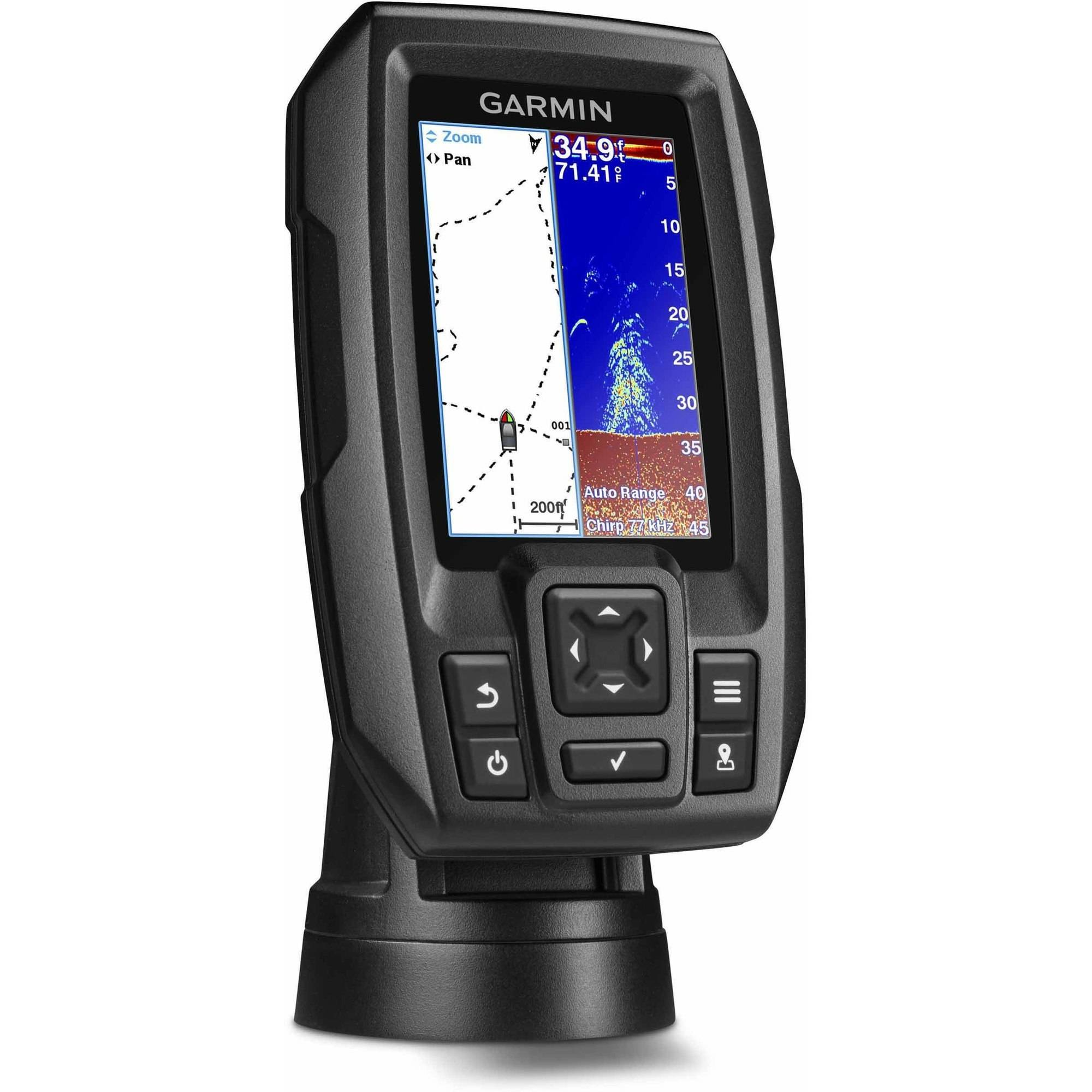 Garmin fish finder transducer fishfinder gps fishing for Fish finder depth finder