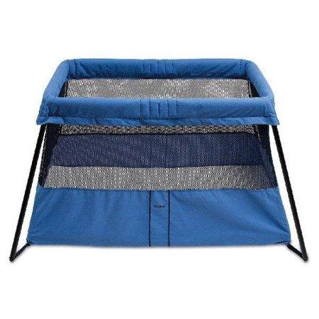 baby bjorn travel crib light 2 in blue. Black Bedroom Furniture Sets. Home Design Ideas