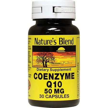 30ct Capsule - Nature's Blend COQ-10 Capsules, 50mg, 30ct