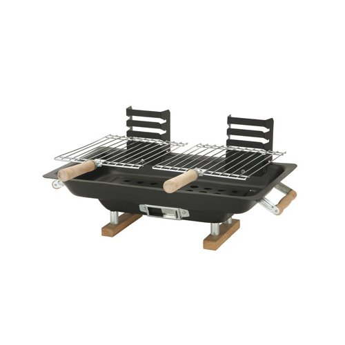 Marsh Allan 16.5'' Steel Hibachi Portable Charcoal Grill by