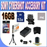 Sony Cyber_Shot Dsc_w510_w530_560_570 16GB Accessory Kit ...