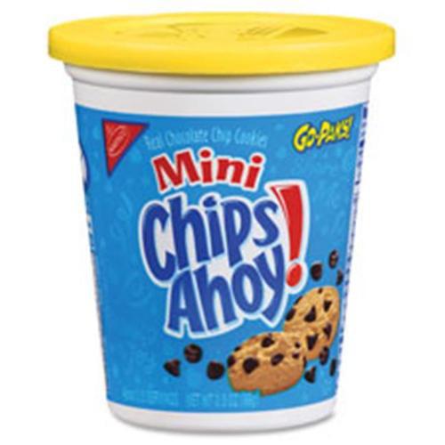 Nabisco Food Group NFG03211 Mini Chips Ahoy Cookies Go Pak, 8 Per Count