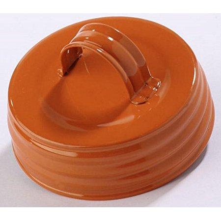 Mason Jar Canister Converter Tops - Orange Quad Pack