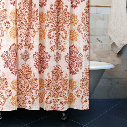 Tuscany Damask Multi Shower Curtain