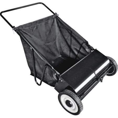 - Vulcan YTL31110 Lawn Sweeper With Nylon Bag, 26 in Working, 7 cu-ft