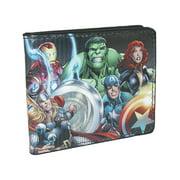 Buckle Down Kids' Marvel Multi Character Avengers Bilfold Wallet