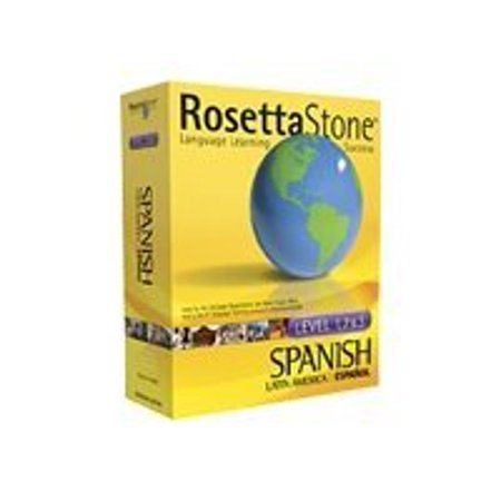 The Rosetta Stone Spanish  Latin America  Personal Edition Level 1  2    3 Set   Box Pack   1 User   Cd   Win  Mac