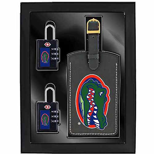 Aminco 3-Piece Luggage Security Gift Set, Florida Gators