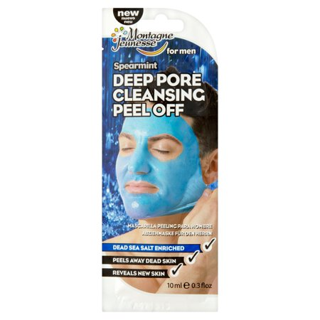 7Th Heaven Men S Peel Off Deep Pore Cleansing Face Mask  2 Pack  0 3 Fl  Oz