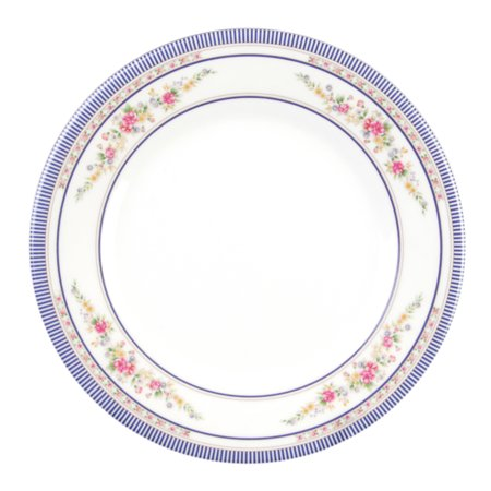Excellante Rose melamine dinnerware collection 15 1/2