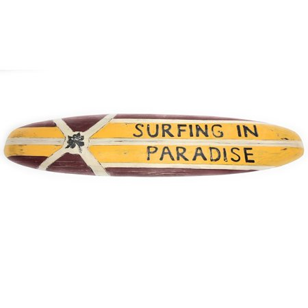 Paradise Surf Sign - Surfing In Paradise Rustic Surf Sign 40