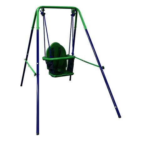 ALEKO Portable Folding Toddler Baby Swing Chair - (Toddler Baby Swing)