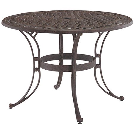 Home Styles Biscayne 42 Round Outdoor Dining Table Multiple Finishes