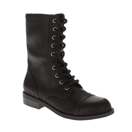 c78b26d4b5f77 Faded Glory Women s Combat Boot
