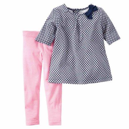 Carter's Baby Girls Playwear 2 Pieces Sets 239g296 Carters is the leading brand of children clothing, gifts, and accessories in America, selling more than 10 products for every child born in the U.S. Our designs are based on a heritage of quality and innovation that has earned us the trust of generations of families.