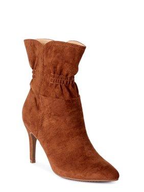 Scoop Blair Scrunch Stiletto Heeled Bootie Women's