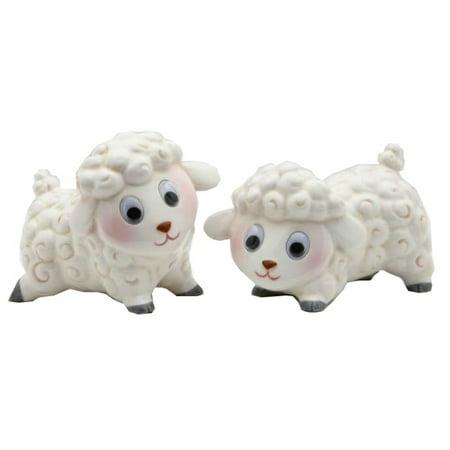 Mini Baby Face Sheep Lambs Salt Pepper Shakers