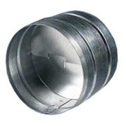 Acme Miami ABD-10 10 in. Back Draft Damper - Silver