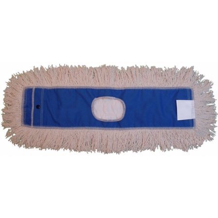 JaniMop Looped Dust Mop, Natural, 18