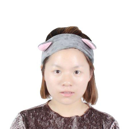Woman Cat Ears Decor Hairstyle Sports Yoga Stretchy Headband Hairband](Yoda Cat Ears)
