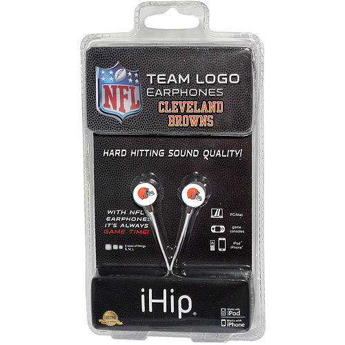 iHip NFL Mini Earbuds, Cleveland Browns