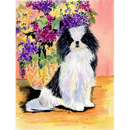 Japanese Chin Flag - Garden Size, 11 x 15 in. - image 1 de 1