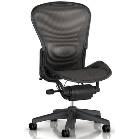 new arrivals eecc7 4127a Herman Miller Aeron Chair Size B (or C) No Arms, Executive Office Chair