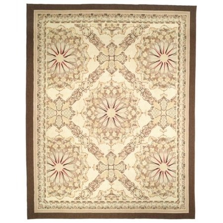 Safavieh Handmade  Couture French Aubusson Flatweave Red/ Gold/ Green Wool Area Rug (China) - Multi - 4' x (French Aubusson Light)
