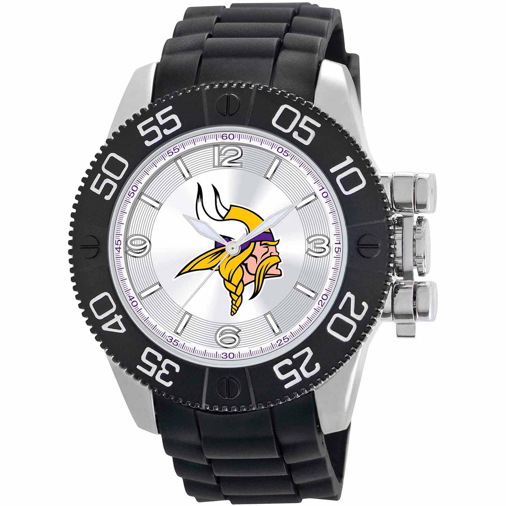 Game Time NFL Men's Minnesota Vikings Beast Series Watch