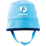 Cressi Blue Babaloo Beach Infant UV Protected Baby Hat