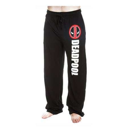 70337413ce Deadpool - Marvel Deadpool Logo Men's Lounge Pants - Walmart.com
