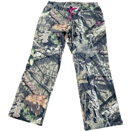 0b463bf40c35d Mossy Oak Women's Fleece Camo Sweatpants, MO Breakup Country ...