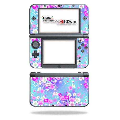 MightySkins Protective Vinyl Skin Decal for New Nintendo 3DS XL (2015) Case wrap cover sticker skins In Bloom